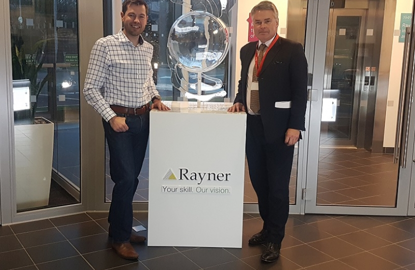 Visit to Rayner