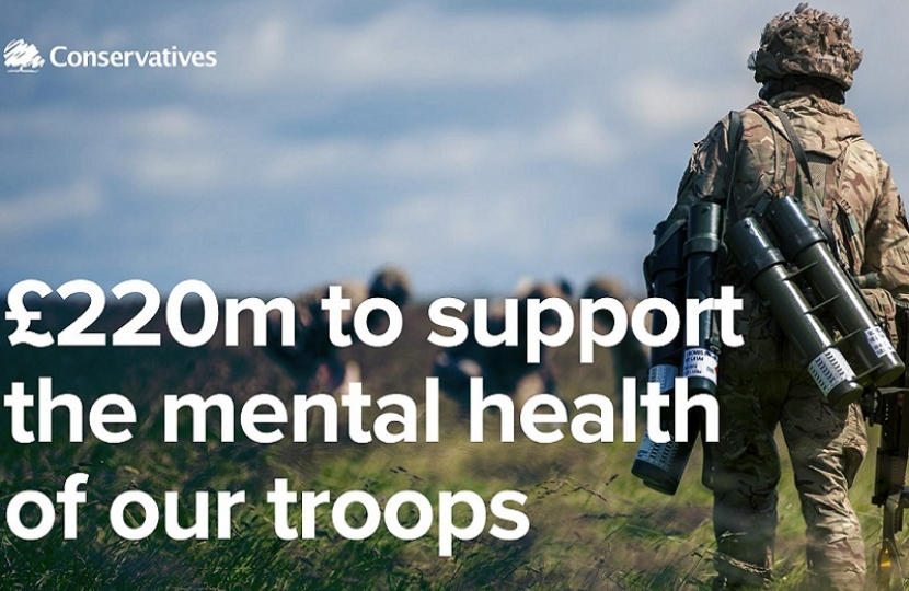 £220m to support the mental health of our troops