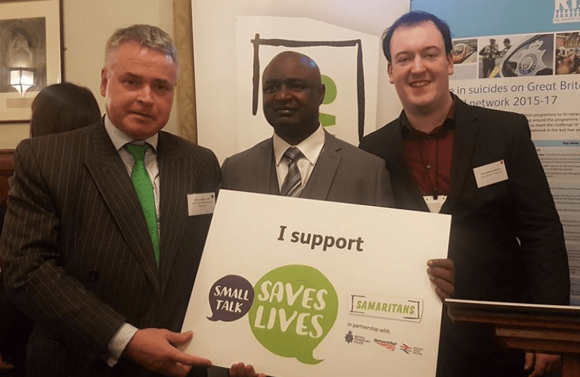 Samaritans and Network Rail: Suicide Prevention event