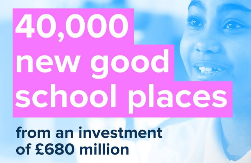 Investment in new school places