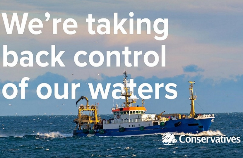 Government Fisheries Bill to take back control of UK waters