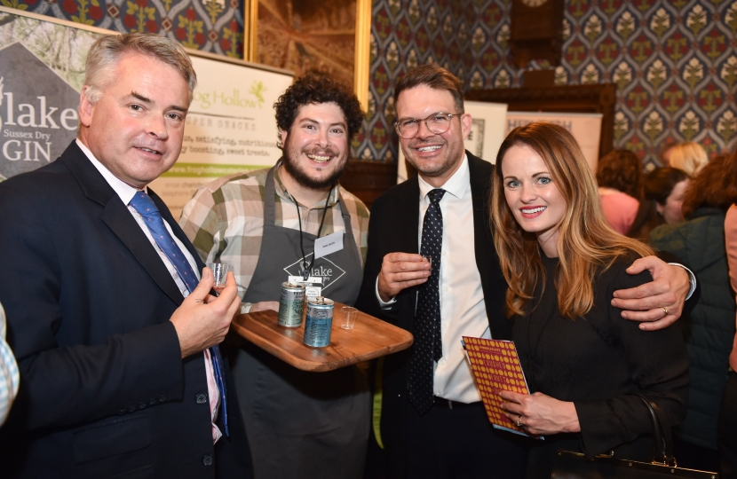 A Taste of West Sussex at the House of Parliament
