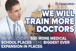 We will train more doctors