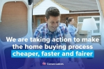 Making the home buying process cheaper, faster and less stressful