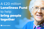 £20 million investment to help tackle loneliness