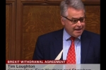 Embedded thumbnail for Brexit Withdrawal Agreement - Speech in Parliament